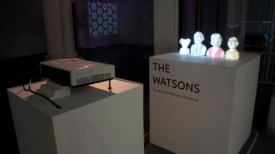 Creative Computing show - The Watsons