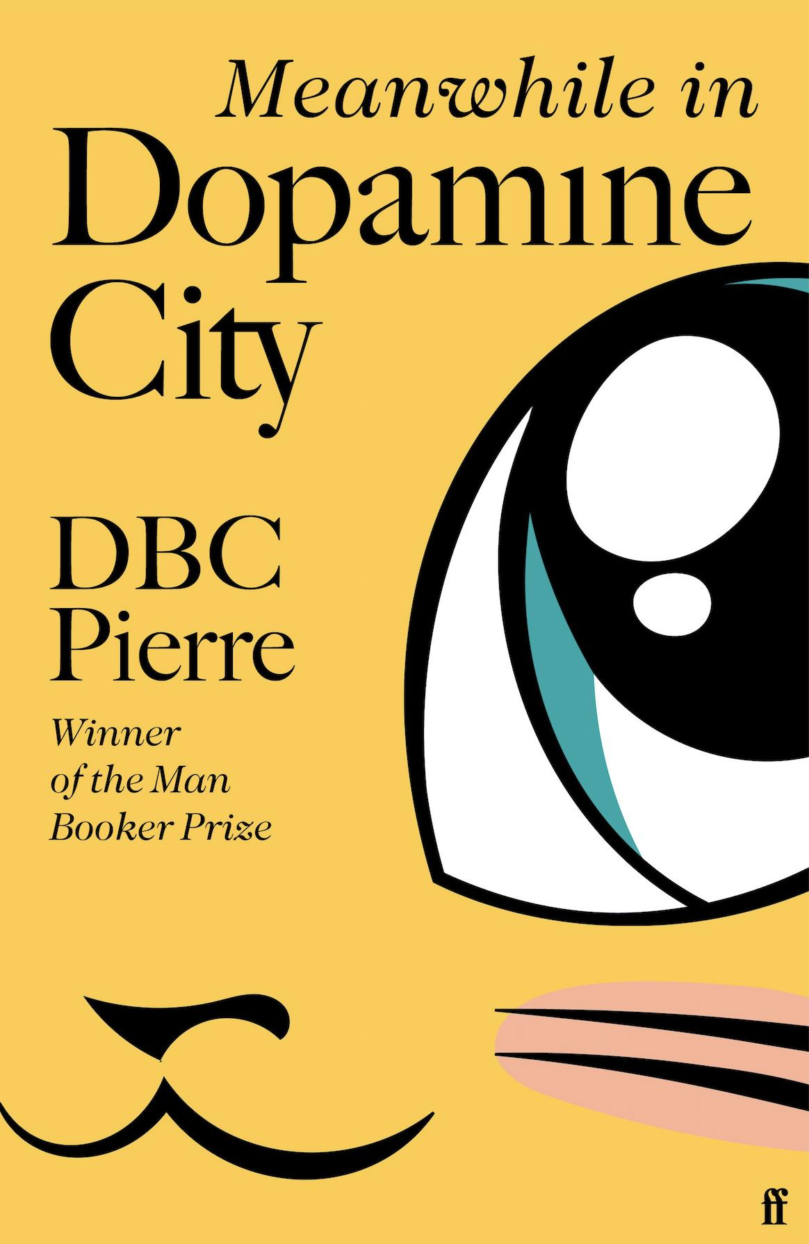 Book cover from Meanwhile in Dopamine City