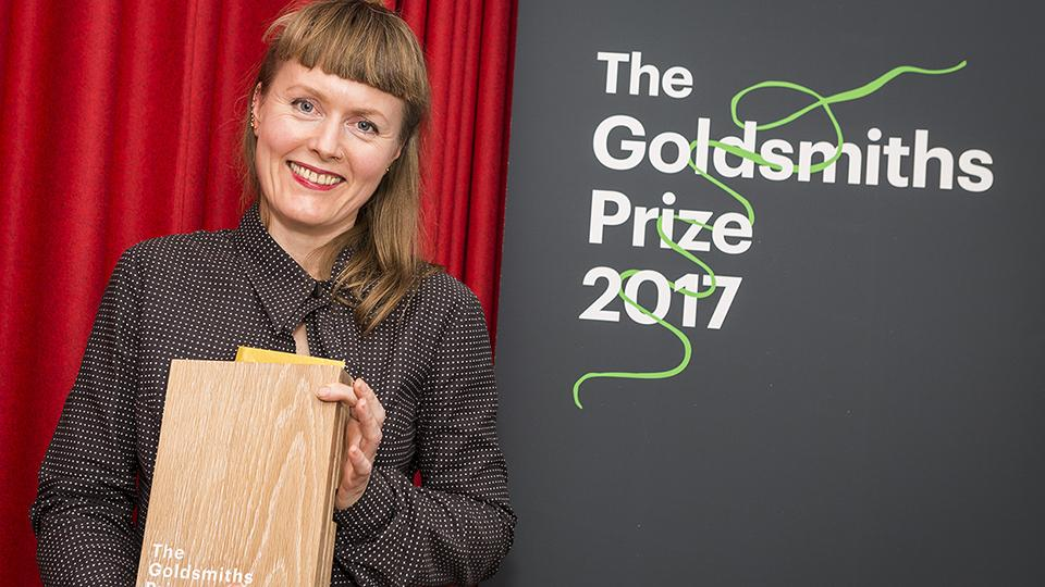 Winning author Nicola Barker