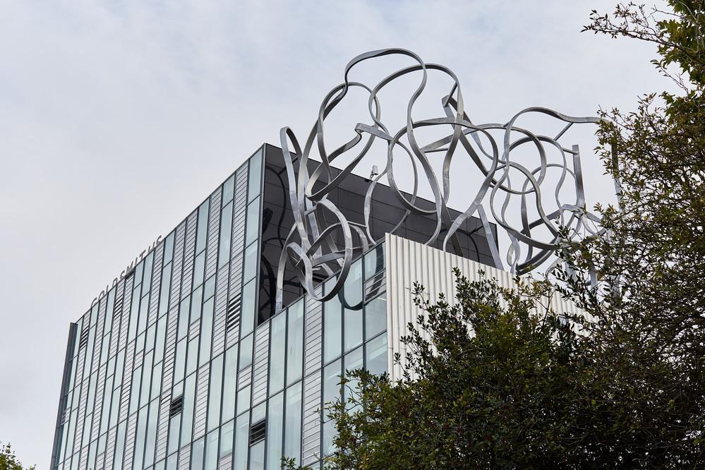 The striking Ben Pimlott Building opened in 2005
