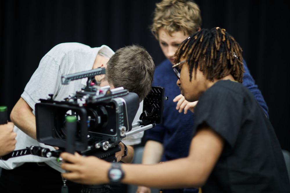 Cinematography students