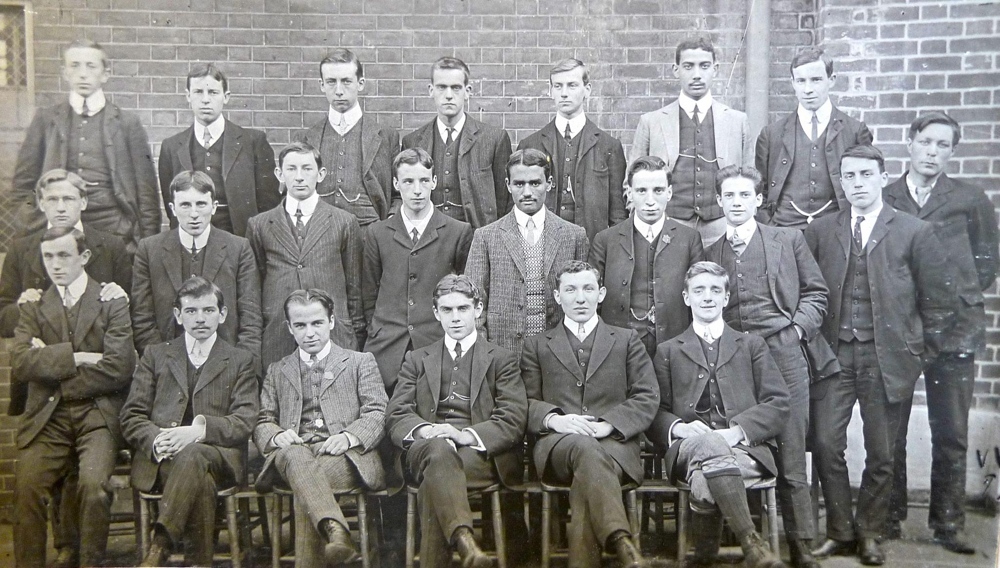 Trainee teachers at Goldsmiths in the early 1900s