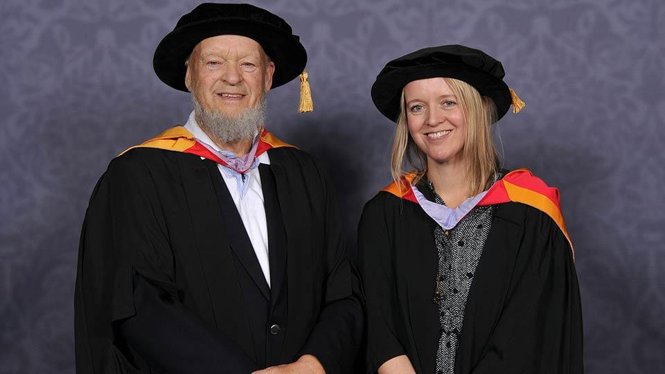 Photo of Michael and Emily Eavis
