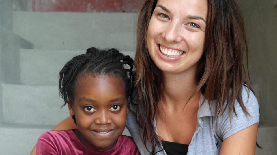 Photo of Olivia Owen, founder of education charity EduHaitian