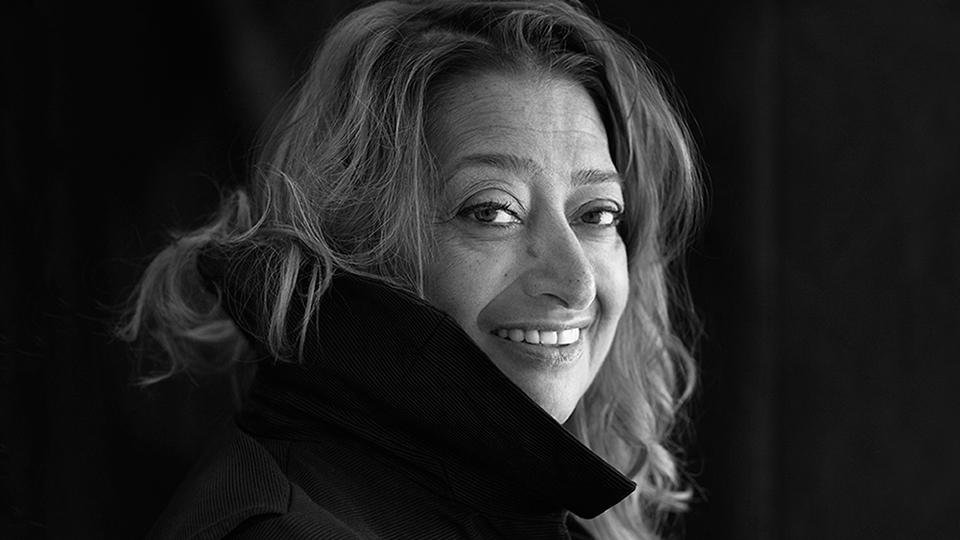 Photo of Dame Zaha Hadid
