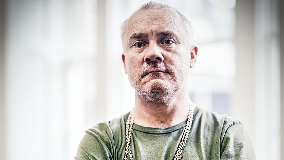 Photo of Damien Hirst