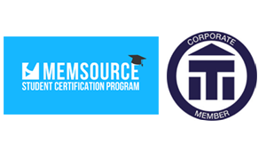 Logos for the Memsource Student Certification Program and Institute of Translators and Interpreters