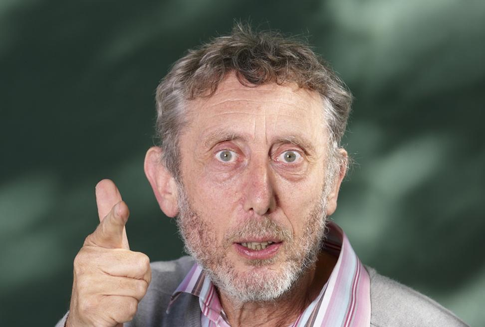 Engaging pupils with poetry with Michael Rosen