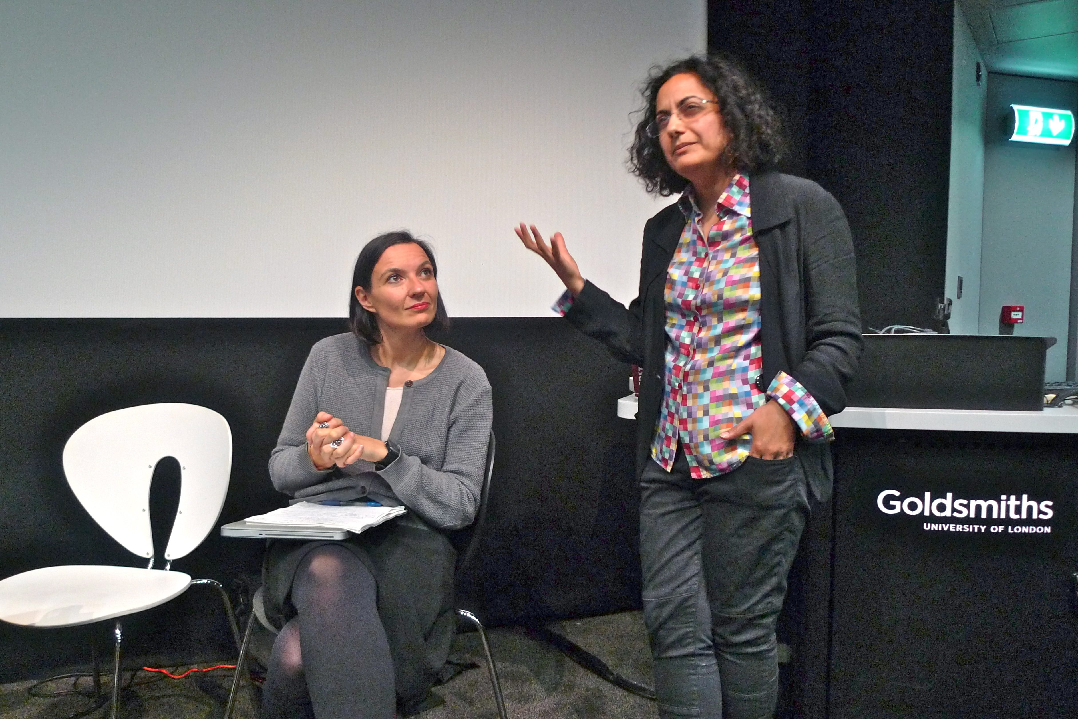 Manuela Bojadzijev and Nirmal Puwar