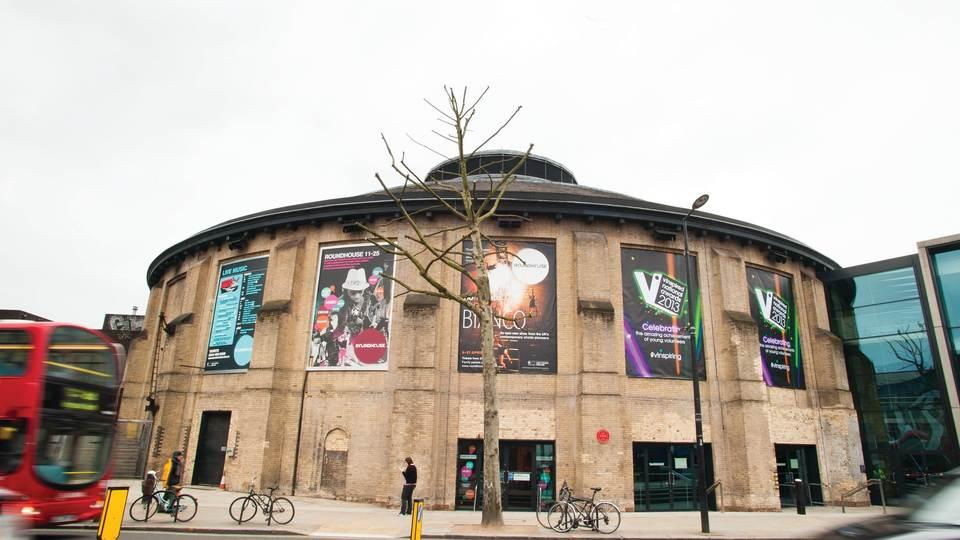 The Roundhouse in Chalk Farm